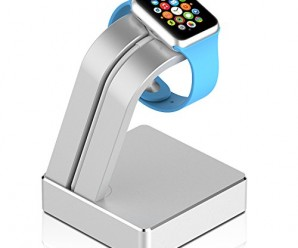 Apple Watch Stand, JETech® Aluminium Apple Watch Charging Stand Statio Dock Platform for 38/42mm All Models (ALU – Silver)