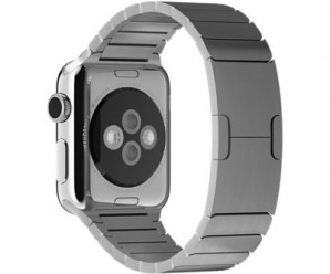 MyCell 42mm Staineless Steel Link Bracelet Replacement Band for Apple Watch