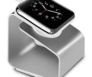 Apple Watch Stand, Aerb iWatch Metal Charging Stand Bracket Docking Station Stock Cradle Holder for Both 38mm and 42mm