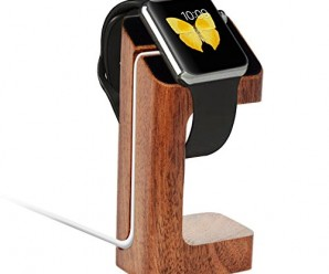 Apple Watch Stand, Aerb iWatch Wood Charging Stand Bracket Docking Station Stock Cradle Holder for Both 38mm and 42mm