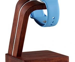 Navitech Apple Watch Wood Oak Charging Dock / Station / Platform