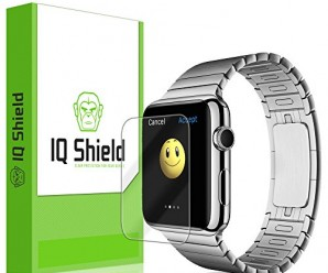 IQ Shield LiQuidSkin – [6-PACK] Apple Watch 42mm Screen Protector with Lifetime Replacement Warranty – High Definition (HD) Ultra Clear Smart Film – Premium Protective Screen Guard – Extremely Smooth / Self-Healing / Bubble-Free Shield – Kit comes in Frustration-Free Retail Packaging