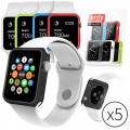 Orzly 5-in-1 42mm Face Plates for Apple Watch – Assorted Colors