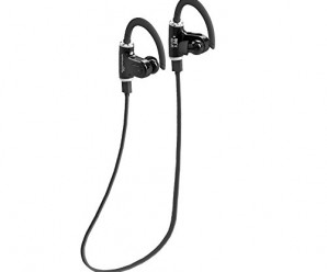 Rotibox Nemo Portable Lightweight Sports Wireless Bluetooth Headphones Noise Cancelling Headphones w/ Microphone [ Sports / Running / Gym / Exercise/ Sweatproof ] Wireless Bluetooth Earbuds Headset Earphones Earpiece for Apple Watch,iPhone 6, 6 Plus, 5 5c 5s 4,Ipad 2 3 4 Air New Ipad,Ipod,Samsung Galaxy S6 S5 S4 S3 Note 4 3 2,LG G2 G3,HTC One M8 M9,Moto Droid,Nokia,Sony-Xperia,Verizon,AT&T,Sprint,T-mobile,Android Tablet Phones And Smart Phones Bluetooth Devices-Black