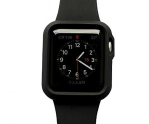 Apple Watch Case, CIYOYO [Exact-Fit] Apple Watch 42mm Cover Slim **NEW** [Thin Fit] Premium Matte Finish Soft CaseCover for Apple Watch 42mm (2015) Black