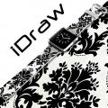Apple Watch Accessories 38mm Watch Band Black Floral Pattern