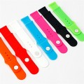 Moretek Silicone Sport Edition Soft Watch Band Straps for Apple iWatch 7 Colors and 7 Packs (38mm)