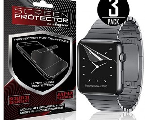 42mm Apple Watch Screen Protector, Skque® Anti Scratch Screen Protector for Apple Watch 42mm [3 Pack]