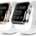 Plated Apple Watch Case – OZAKI O!coat Wardrobe+ 2 in 1 Ultra Slim & Light Weight Case Set [for Her] for Apple Watch Sport 38 mm. Coat Your Apple Watch Daily / Rose Gold and Stainless Steel Colors
