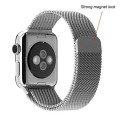 Apple Watch Band,Kartice(TM) Stainless Steel Magnetic Closure Clasp Bracelet Metal Smart Watch Band Strap For Apple Watch iWatch With Metal Adapter Clasp,Milanese Loop Stainless Steel Mesh Replacement Wrist Band for Apple Watch & Sport & Edition 38mm