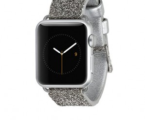 Case-Mate Smartwatch Replacement Band for Apple Watch – Retail Packaging – Silver