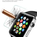 Apple Watch Screen Protector, LoHi(TM)Utral Thin(0.1mm)Apple Watch (42mm) Tempered Glass Screen Protector,High Defintion (HD) Clear Scratch-resistant Glass Screen Protector- Maximum Clarity and Touchscreen Accuracy for Apple Watch, Apple Watch Sport, and Apple Watch Edition (42mm ONLY)