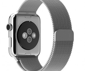 Apple Watch Band, with Unique Magnet Lock, JETech® 38mm Stainless Steel Bracelet Strap Band for Apple Watch 38mm All Models No Buckle Needed