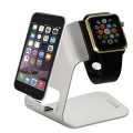 Tendak Charging Stand Bracket Docking Station Stock Cradle Holder for Apple Watch Both 38mm and 42mm – Aluminum Build Stand