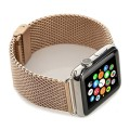 Apple Watch Band, Mkeke® Milanese Loop Stainless Steel Mesh Replacement Strap Wrist Band for Apple Iwatch & Sport & Edition with Screw Tool (Milanese Rose Gold, 42mm Man)