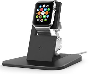 Twelve South HiRise Stand for Apple Watch   Charge, Protect and Dock your Apple Watch, Black