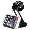 Sparin SP-APSD-01 Portable Multifunctional Charging Dock and Stand for Apple Watch, Apple Watch Sport and Apple Watch Edition, Black