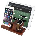 Teslasz 3 in 1 Apple Watch Stand Smooth Natural Wooden Desk Charging Dock Station for Apple iWatch/ iPhone 6/iPad Air(Wooden)