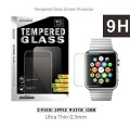 42mm Apple Watch Tempered Glass, (2-Pack) iMacket ® Ultra Clear Tempered Glass Screen Protector for iWatch Apple Watch 42mm
