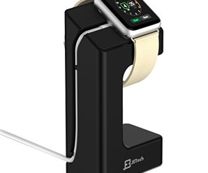 Apple Watch Stand, JETech® Apple Watch Charging Stand Station Dock Platform for 38/42mm All Models (Black)