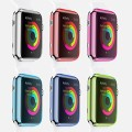 Apple Watch Case, Gearwarez® Hard Pc Plastic Front and Side Cover Cases (6 Color Combination Pack) for Apple Watch / Watch Sport / (42 mm)