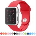 E-TECHING Sport Soft Silicone Band Replacement for Apple Watch 2015 All Models 42mm
