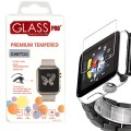 Tempered Glass Screen Protector for Apple Watch, [ 2 Pack ] 38mm Premium Hd Ultra Clear High Definition Anti-glare Waterproof Bubble-free Scratches