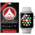Ace Armor Shield Shatter Resistant Screen Protector for the Apple iWatch 42mm / Military Grade / High Definition / Maximum Screen Coverage / Supreme Touch Sensitivity /Dry or Wet Easy Installation with free lifetime replacement warranty