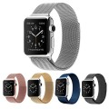 Apple iWatch Band,Teslasz 38 mm Stainless Steel Milanese Loop Strap Magnetic Buckle Wrist Band for Apple iWatch All Models (Silver 38 MM)
