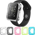 Apple Watch Case, Konsait Flexible Premium Soft TPU Transparent Full Body Apple Watch Cover [5 Color Combination Pack] for Apple Watch 42mm Version