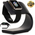 Apple Watch Stand [Nightstand Mode Compatible Accessories] Aluminum Charging Dock (Space Gray) – Madsen Outlet