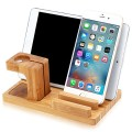 Apple Watch Stand, Kollea Bamboo Wood Charging Stand Bracket Docking Station Holder for iPhone & iPad, Apple Watch
