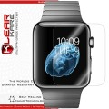 KlearKare Invisible Screen Shield Protector for Apple Watch iWatch 38MM ONLY, [6 Pack] HD Clear Self Healing Nano Technology Bubble Free – Lifetime Warranty