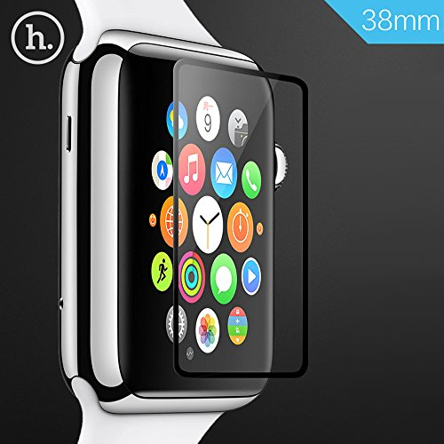 Apple Watch Screen Protector, TabPow HOCO [Tempered Glass] Ghost Series – Ultra-Thin 0.1mm [Full Screen Protector] Premium Tempered Glass Screen Protector for Apple Watch 38mm