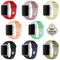 Apple Watch Band – Silicone Sports Style Replacement Fitness Bracelet Strap Wristbands for Apple Watch iWatch Vesion 1 2016 Series 2 Newest Edition 38mm Models,Men/Women,Small/Large (8PCS, Small)