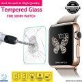 38mm Apple Watch Premium Tempered Glass, GeekTitan Ultra Clear Tempered Glass Screen Protector for iWatch Apple Watch 38mm [Covers only FLAT Surface]