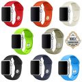 Apple Watch Band, SailFar 8-Pack Sports Silicone Replacement Wrist Strap for Apple Watch iWatch Series 1 Series 2 (8PCS(42mm), Large)