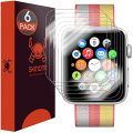 Apple Watch 42mm (Series 1/Series 2) Screen Protector [Newly Revised] [6-PACK] Skinomi TechSkin Full Coverage Screen Protector for Apple Watch 42mm Clear HD Anti-Scratch Anti-Bubble Film
