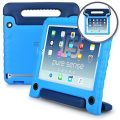 Apple iPad 4 3 2 case, [World's First Anti Microbial Case for Kids] PURE SENSE BUDDY Rugged Children Protective Carry Cover + Shoulder Strap, Handle, Stand, Cleaning Liquid, Screen Protector (Blue)