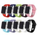Apple Watch Band 42mm 38mm, Soulen Soft Accessory Replacement iWatch Varied Colors Bands Sport Strap for Apple Watch Series 3 / Series 2 / Series 1 / Edition / Hermès / Nike+ (10-Pack S/M, 42mm)