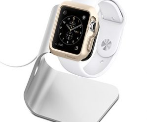 Apple Watch Stand, Spigen® [Charging Dock] Apple Watch Charging Stand
