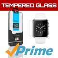 SOJITEK Apple Watch 42mm Display Premium Ballistic Tempered Glass Screen Protector with Lifetime Replacement Warranty – High Definition (HD) Ultra Clear 99.99% Clarity and Touchscreen Accuracy Smart Film – Retail Packaging 2014 (0.2mm, 2.5D Rounded borders)